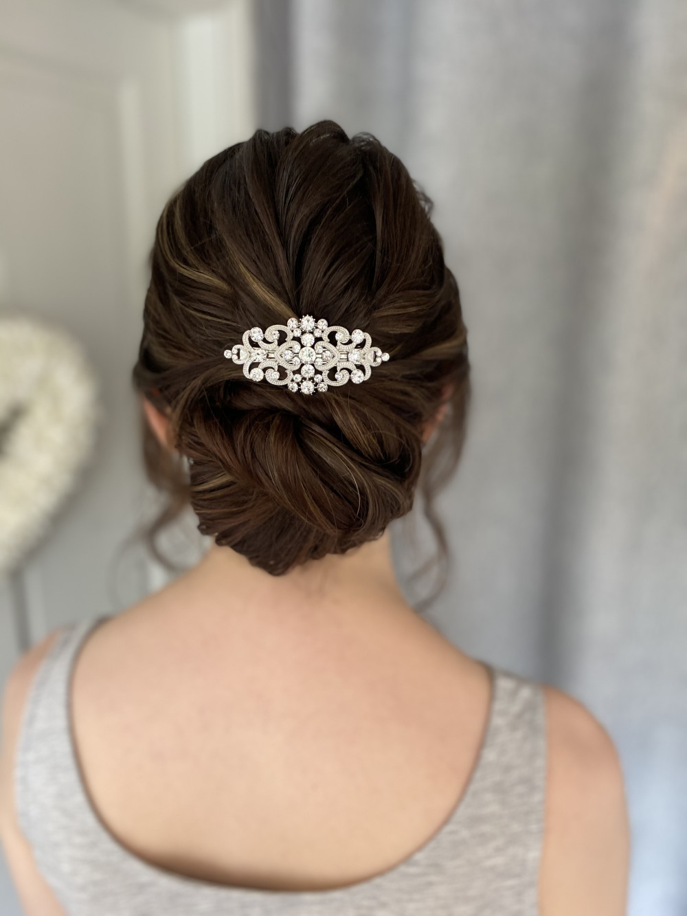 - Make Me Bridal Artist: Bridal hair by Michelle Jewess. Photography by: Michelle. #classic