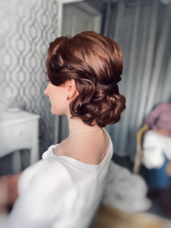 - Make Me Bridal Artist: Bridal hair by Michelle Jewess. Photography by: Michelle. #oldhollywood