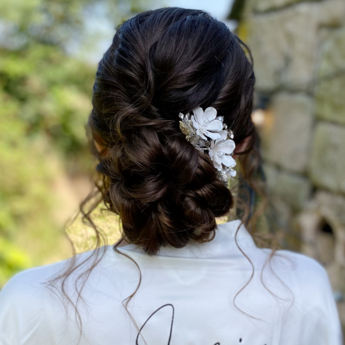 - Make Me Bridal Artist: Bridal hair by Michelle Jewess. #classic