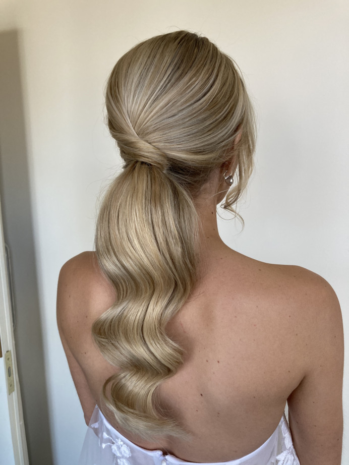 - Make Me Bridal Artist: Hair Creations By Colette. #bridalhair #ponytail