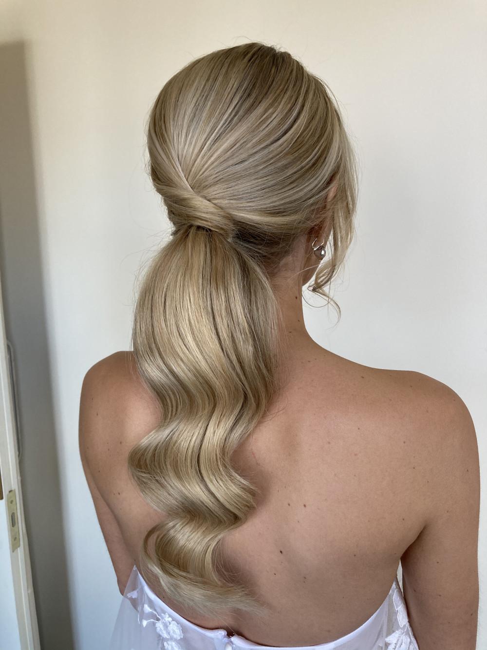- Make Me Bridal Artist: Hair Creations By Colette. #bridalhair #ponytail