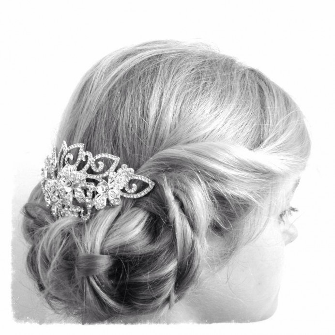 Bridesmaid Hair - Make Me Bridal Artist: Katrina Flavell . #updo #bridesmaidhair #bridesmaidhair #vintagehair #hairupvintage #bohohair