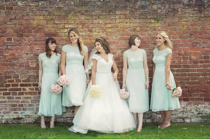 Tara and her gorgeous bridesmaids - Make Me Bridal Artist: Katrina Flavell . #bridalmakeup #bridalhair #makeup #bridesmaidhair #bridesmaidmakeup