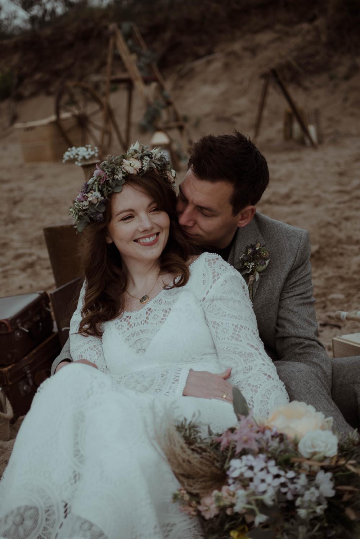 A natural looking makeup for my stunning bride on her beach boho wedding. - Make Me Bridal Artist: Alisa. #naturalmakeup #bridalmakeup #naturalmakeup #wingedliner #weddingmakupartist #naturalweddingmakeup #intimatewedding