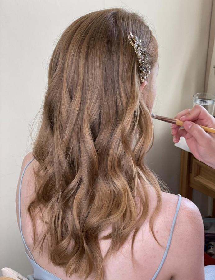wedding hair - Make Me Bridal Artist: BridalbyStefania. Photography by: me. #weddinghair #wavyhair #bridalhairstylist