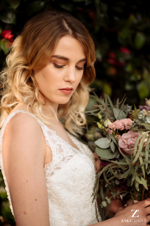 - Make Me Bridal Artist: Abigail M Makeup Artistry. Photography by: Zaki Charles. #bohemian #naturalmakeup #weddinghairandmakeup #bohobride #bridalmakeup #bride #boho #bohohair #hairdown #crueltyfreebride #cruetlyfreemakeup #luxurywedding #luxurymakeup