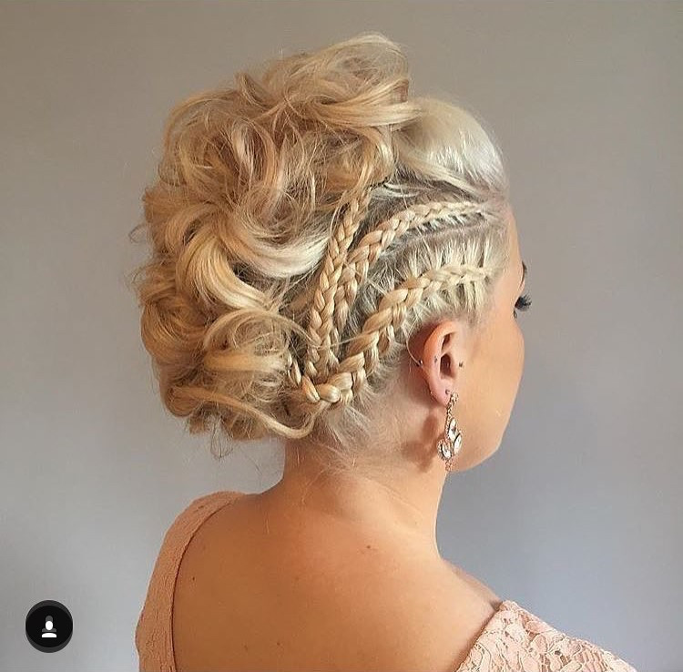 - Make Me Bridal Artist: Hair By Natalie UK. #bohemian #boho #rockabilly #creative #festivalstyle #pinup #bold