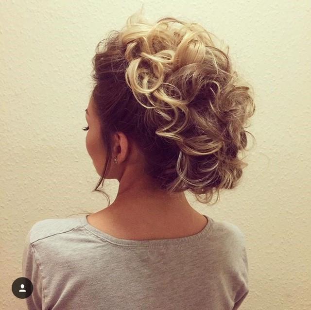 - Make Me Bridal Artist: Hair By Natalie UK. #glamorous #boho #bridesmaidhair #creative #mohawk #funky