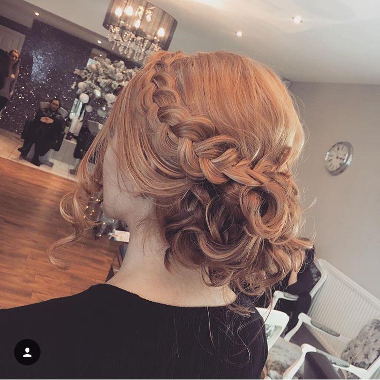 - Make Me Bridal Artist: Hair By Natalie UK. #glamorous #boho #bridalhair #updo #romantichairup #braidedupdo #braids