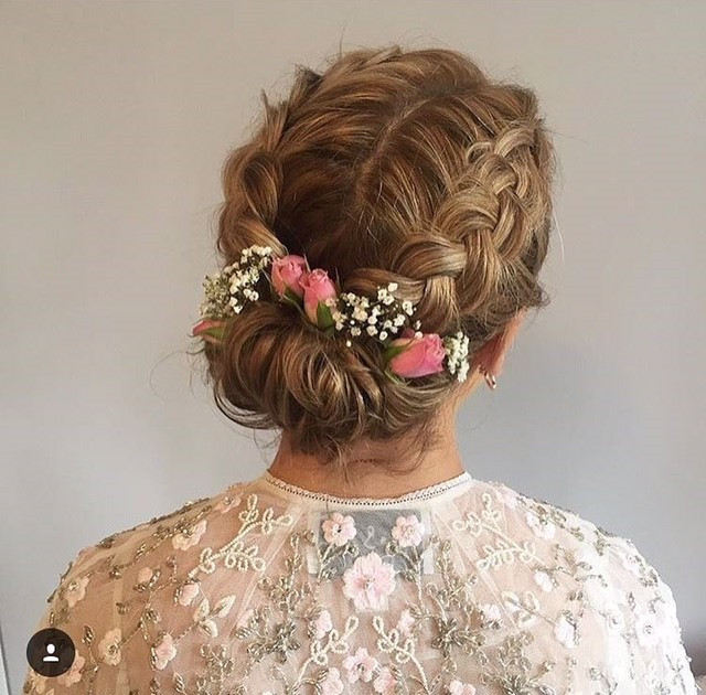 - Make Me Bridal Artist: Hair By Natalie UK. #bohemian #boho #braidedupdo #braids #bohobride #bohowedding #weddinghairup