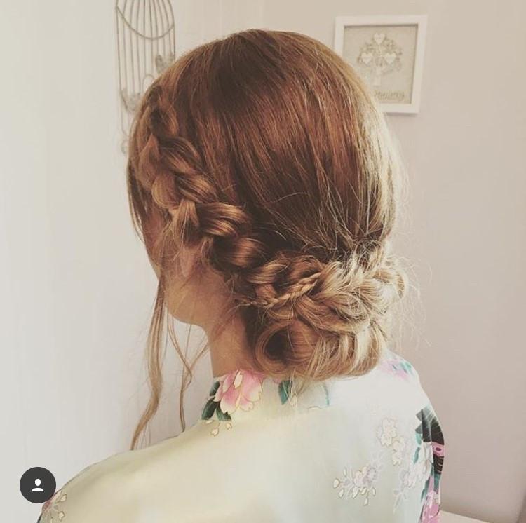 - Make Me Bridal Artist: Hair By Natalie UK. #bohemian #bridesmaidhair #bohobride #bohowedding #bohobridesmaid