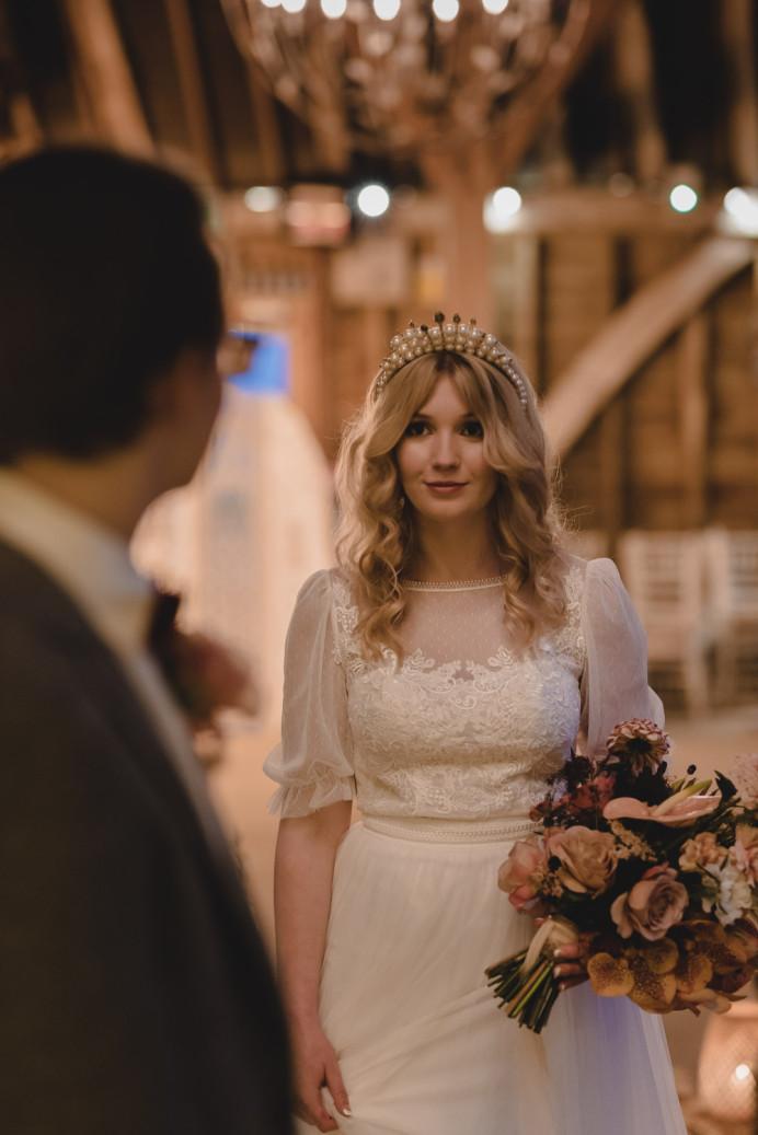 Beautiful bride Honey - Make Me Bridal Artist: Mels Brides. Photography by: Peter Morgan. #bohemian #boho #curls #bridalmakeup #bridalhair