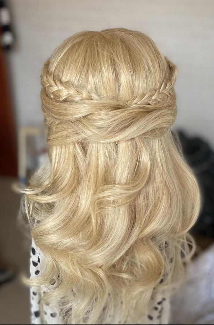- Make Me Bridal Artist: Brides by Sarah. #halfuphair