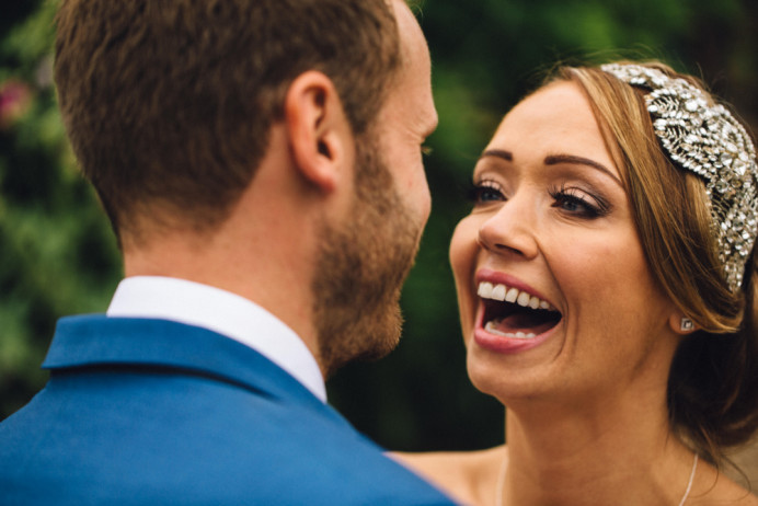 What a gorgeous picture of the bride looking at her groom. This is simply beautiful bridal at its best. Loving natural makeup enhancing the bride making her look and feel her best self. - Make Me Bridal Artist: I Love It Laura. Photography by: Hannah Hall. #classic #naturalmakeup #bridalmakeup #bridalmakeupartist #bridallook #forthenaturalbride #naturalbridal #naturalmakeupartist #hertfordshiremakeupartist