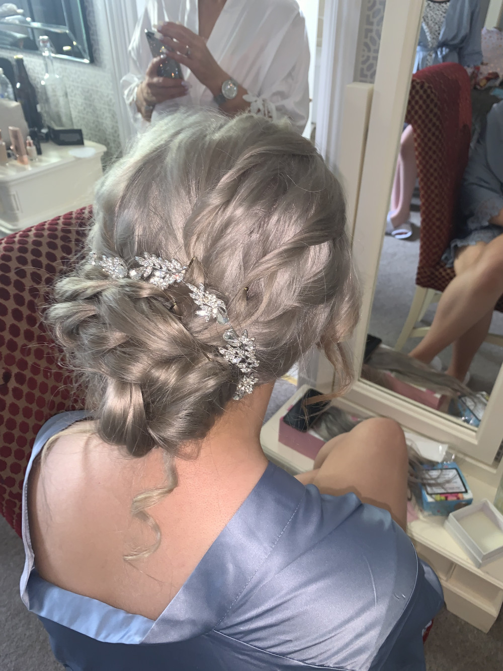 Hair Up - Make Me Bridal Artist: Hannah Cliffe MUA. #bridalhair #updo #hairup #plaitupdo