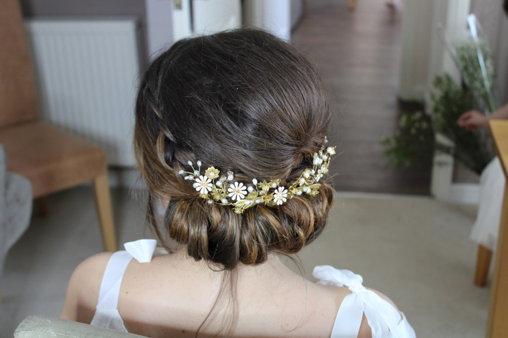 - Make Me Bridal Artist: Flame Beauty. #vintage #boho #braidedupdo #braids