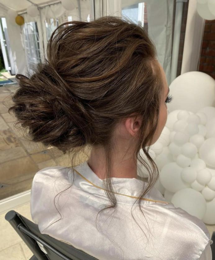 - Make Me Bridal Artist: Charlotte Rose Hairstylist. #bridalhair #updo #naturalhair #messyhair