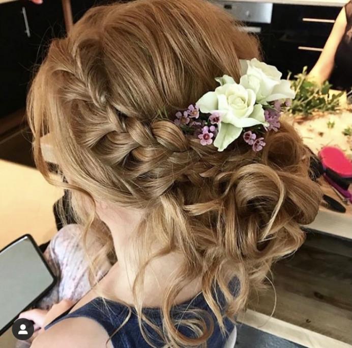 - Make Me Bridal Artist: Charlotte Rose Hairstylist. #braidedupdo