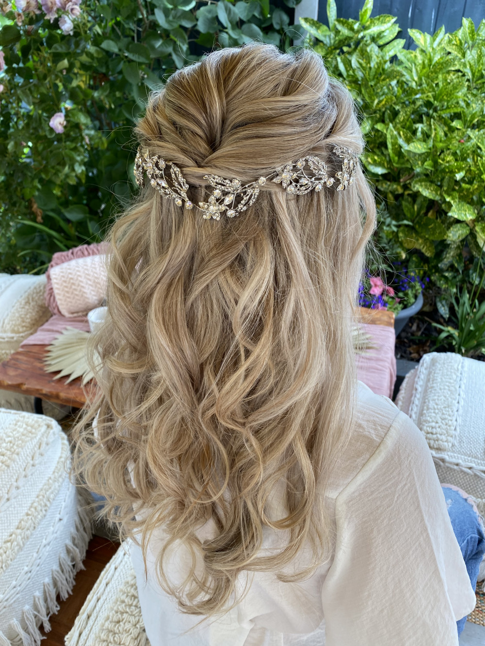 - Make Me Bridal Artist: Charlotte Rose Hairstylist. #romantic