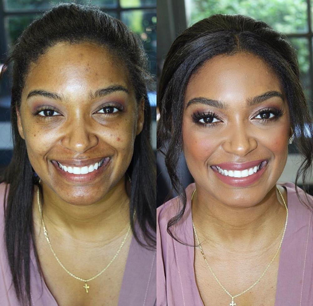 - Make Me Bridal Artist: Mandy Samra Makeup Artistry. #beautifulbridalmakeup #beforeandafter #caribbean