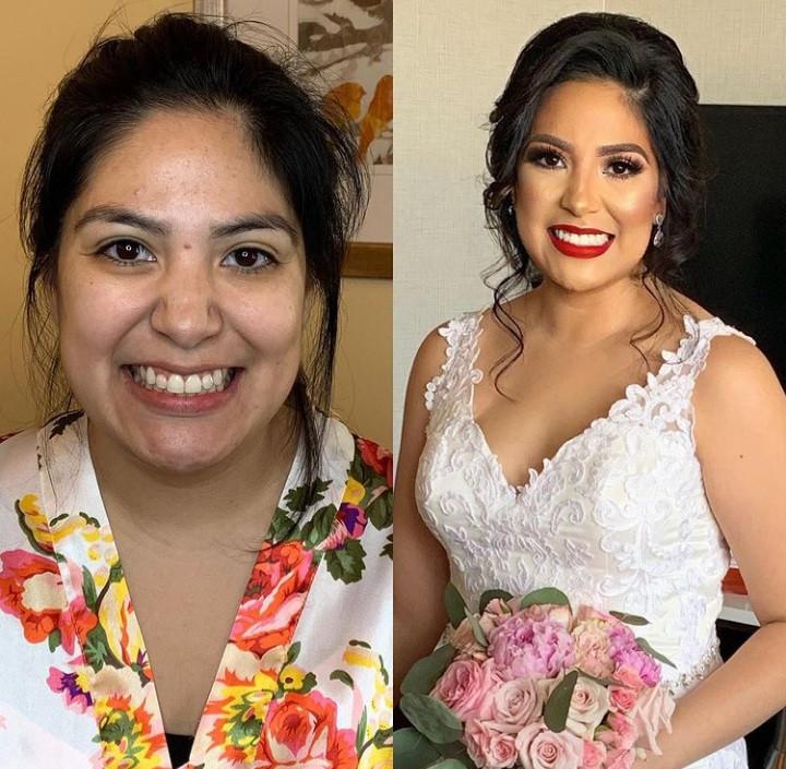 - Make Me Bridal Artist: Mandy Samra Makeup Artistry. #bridalmakeup #beforeandafter