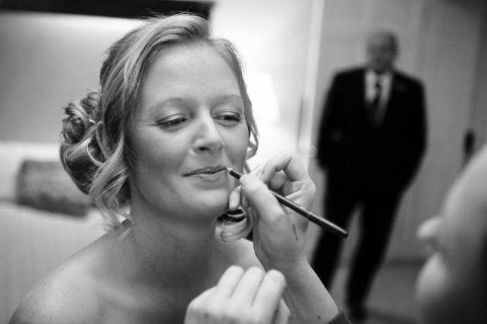 - Make Me Bridal Artist: Carla Crawford.