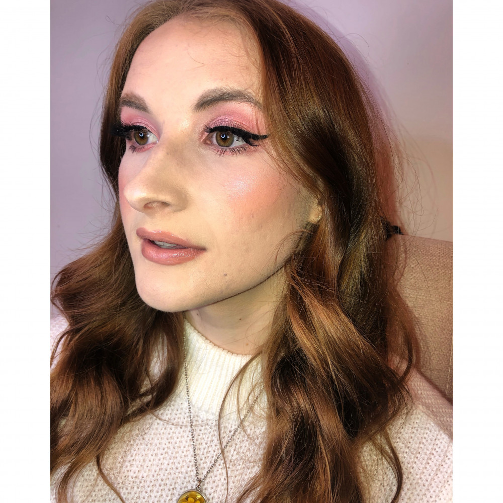 Glowing Pink - Make Me Bridal Artist: Gemma Davey Makeup. #bridalmakeup #glow #pinks
