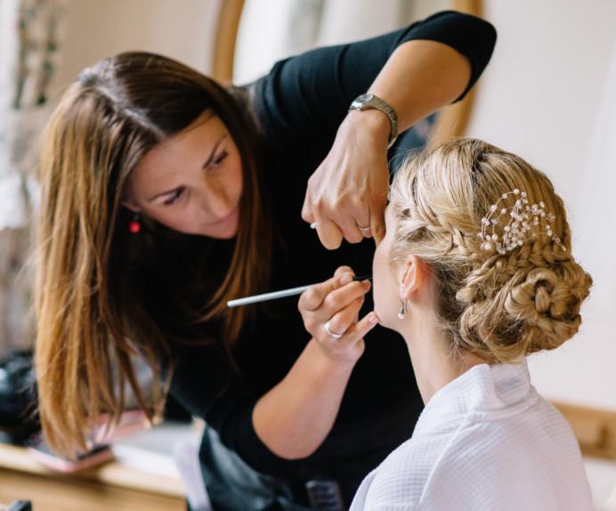- Make Me Bridal Artist: Amanda Roberts Hair & Makeup.