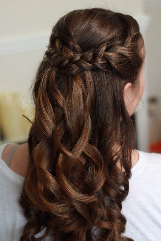 Soft loose curls, half up half down with plaits. - Make Me Bridal Artist: Amanda Roberts Hair & Makeup. Photography by: Amanda Roberts. #halfuphair #braids #plaits #loosecurls