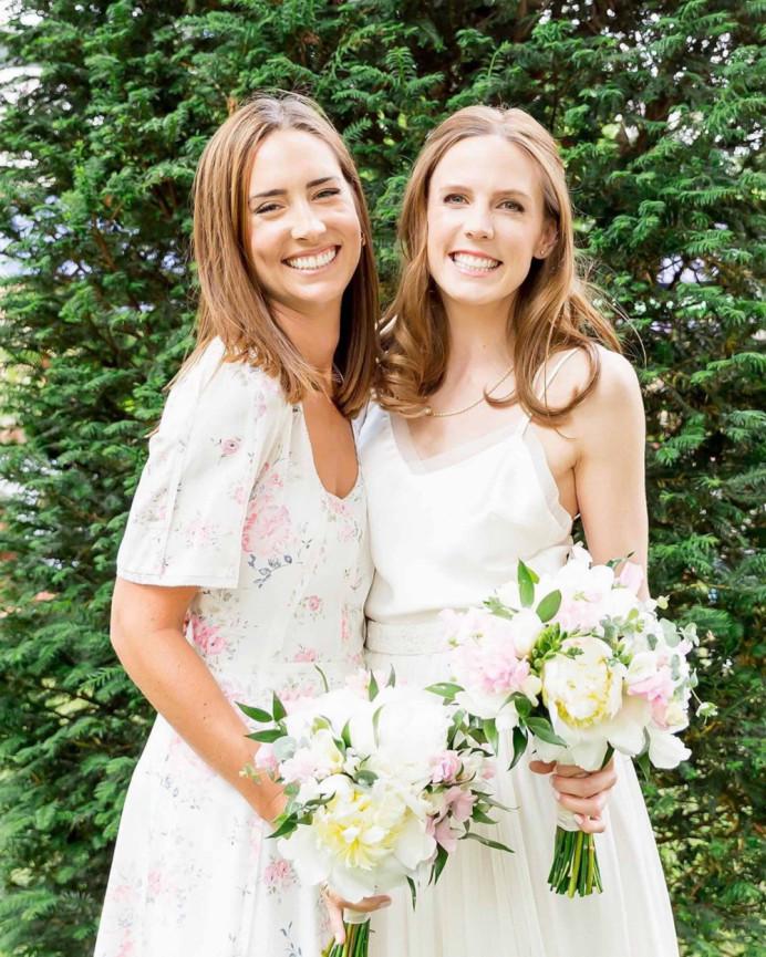 - Make Me Bridal Artist: Amanda Roberts Hair & Makeup. Photography by: James & Kerrie Photography. #boho #naturalmakeup #halfuphair #bridesmaidhairandmakeup #naturalweddingmakeup #bride