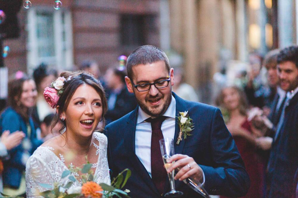 Gorgeous natural hair and makeup with a fresh flower crown. - Make Me Bridal Artist: Neecol Whyte Weddings. #bohemian #flowercrown #naturalmakeup #bridalmakeup #bridalhair #elegantmakeup