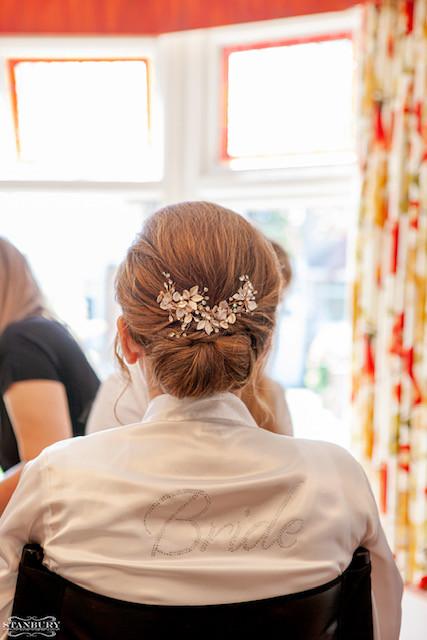 Beautiful low bun. - Make Me Bridal Artist: Neecol Whyte Weddings. Photography by: Stanbury. #classic #bridalhair #elegant #romantichairup #hairup