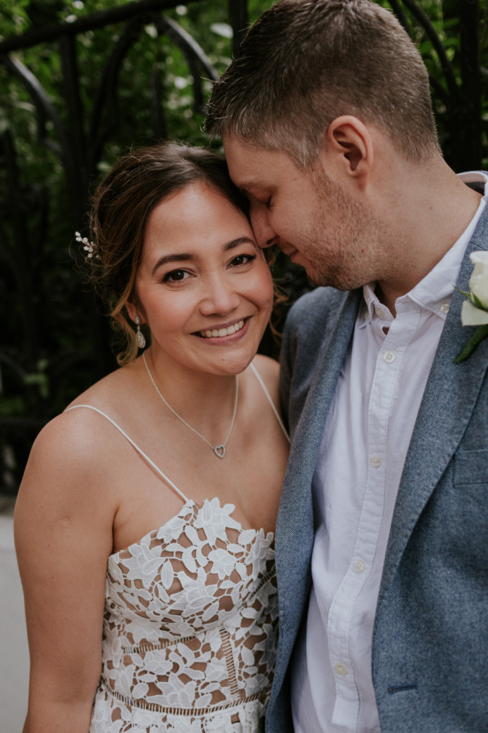 Natural makeup and a soft romantic up do for this bride. - Make Me Bridal Artist: Neecol Whyte Weddings. #classic #naturalmakeup #bridalmakeup #bridalhair #romantichairup #softupdo