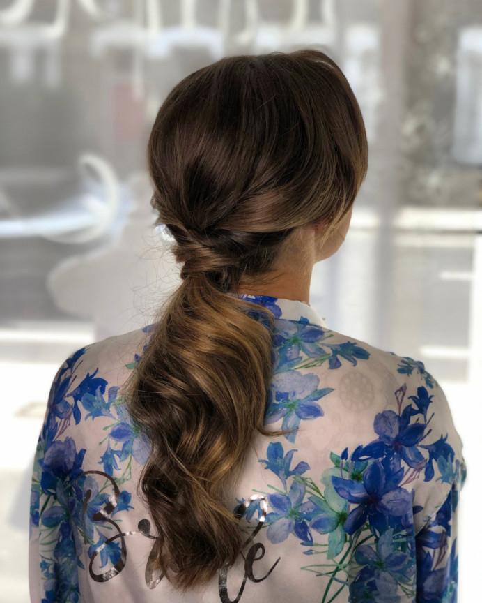 - Make Me Bridal Artist: Neecol Whyte Weddings. #bohemian #bridalhair #hairup #ponytail