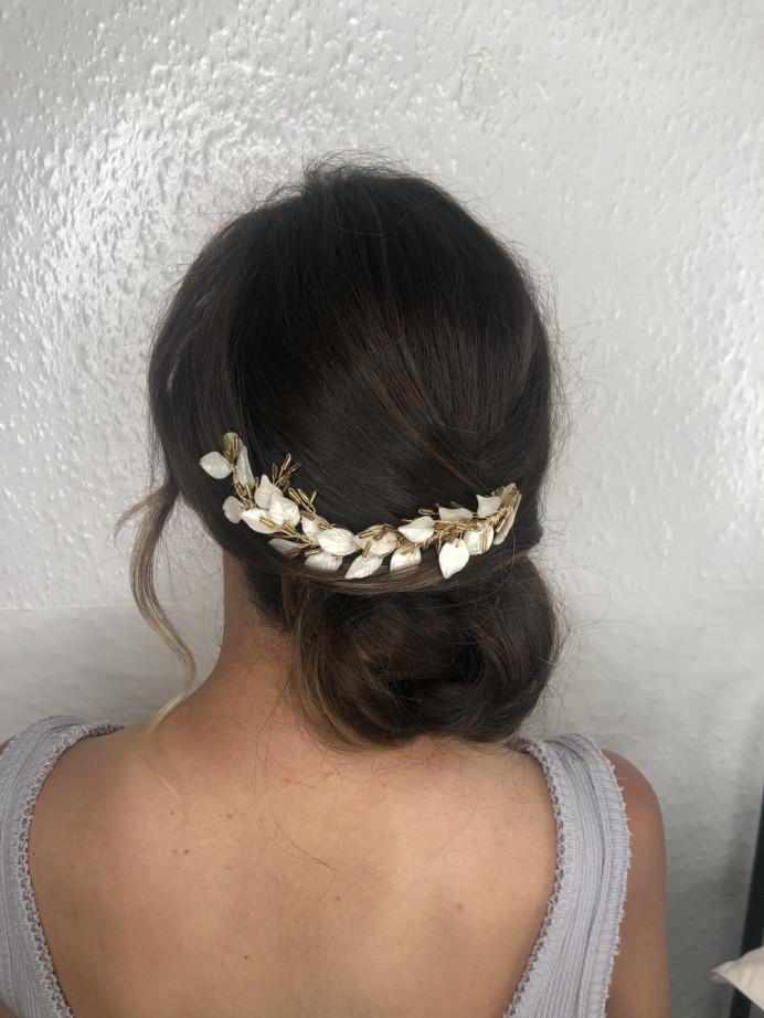 - Make Me Bridal Artist: Neecol Whyte Weddings. #classic #bridalhair #romantichairup #bridalhairstylist #bridalhairup #eleganthair
