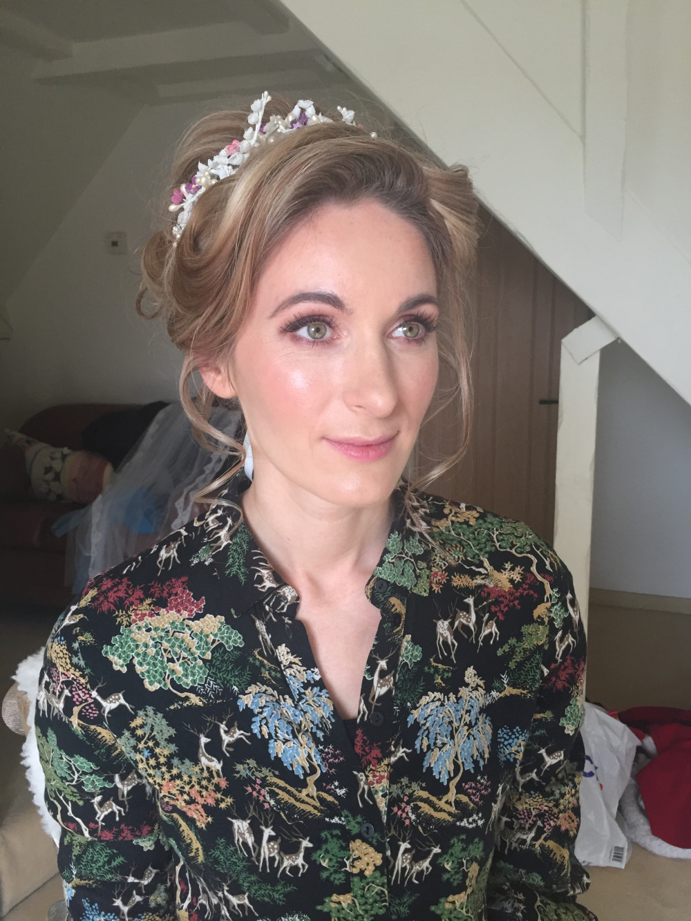 Soft bronze smokey eyes and glowing skin for this beautiful bride. - Make Me Bridal Artist: Neecol Corry Weddings. #classic #naturalmakeup #bridalmakeup #beautifulbridalmakeup #glowingskin