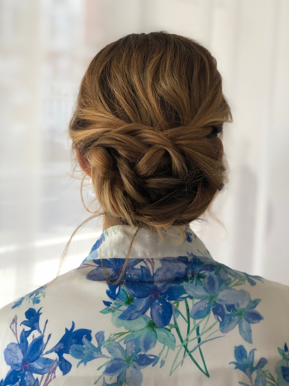 Soft, understated elegant up do! Keep the hair soft and romantic with curls framing the face. - Make Me Bridal Artist: Neecol Corry Weddings. #classic #glamorous #bridalhair #romantichairup #hairup #forthenaturalbride