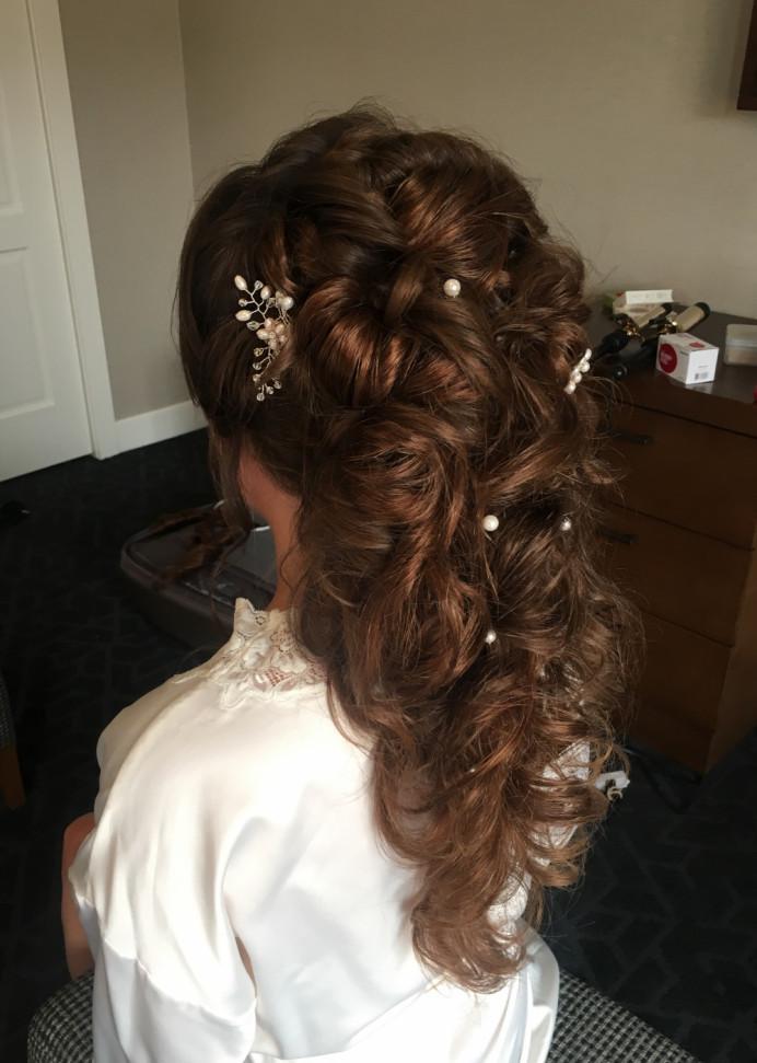 - Make Me Bridal Artist: Bridal Hair Artist Yuki Black. #glamorous
