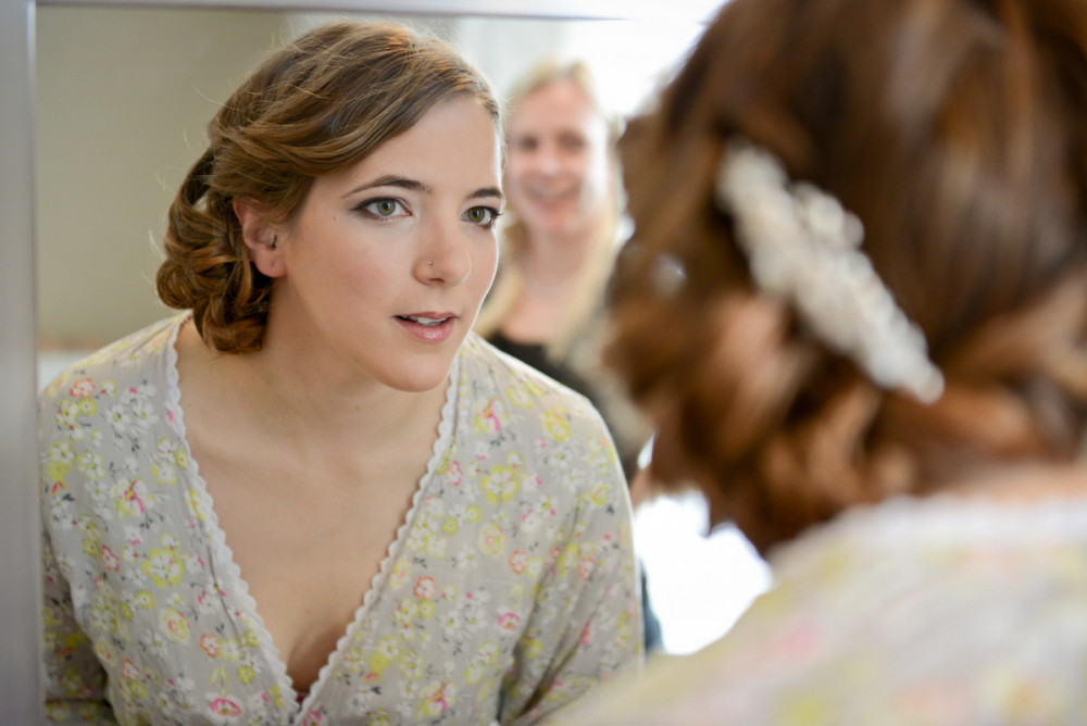Really loved helping Gina get ready! - Make Me Bridal Artist: Bride By Becky .