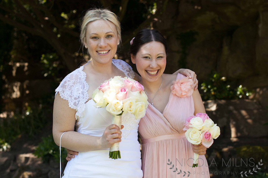 Loved Jades look and her gorgeous sister too! - Make Me Bridal Artist: Bride By Becky .